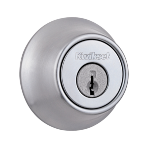 Kwik set deadbolt